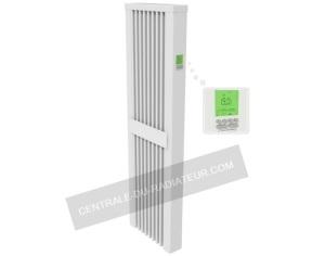 Radiateur chaleur douce vertical 1600 watts